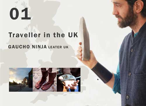 GAUCHO NINJA LEATHER UK その1